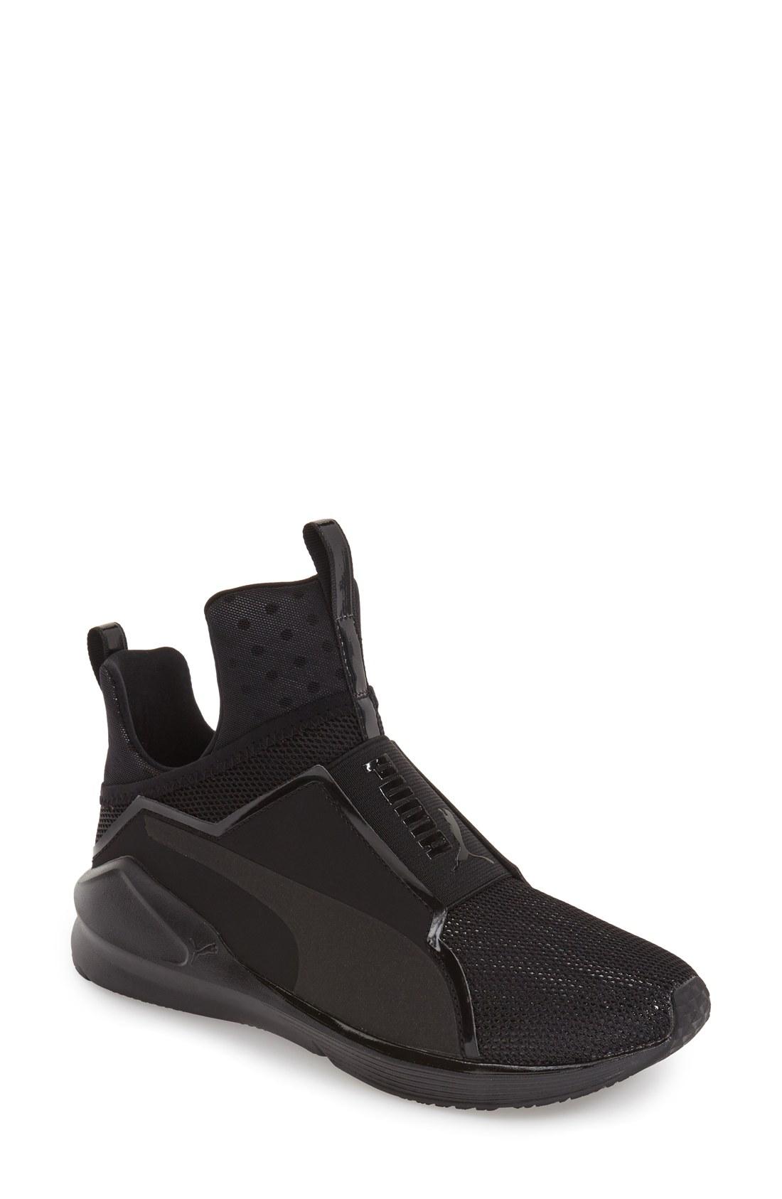 puma high tops fenty puma by rihanna u0027fierce shineu0027 high top sneaker (women) | nordstrom BWITUXS