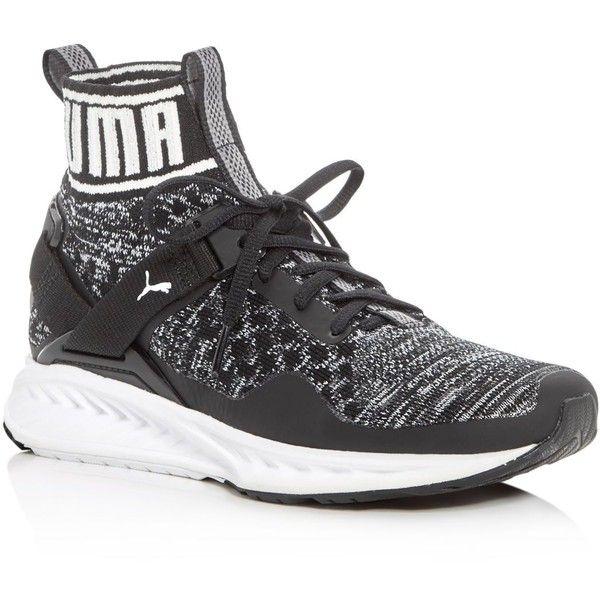 puma high tops puma womenu0027s ignite evoknit high top sneakers (1.080 nok) ❤ liked on  polyvore MDCYAXH
