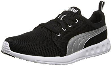 puma running shoes puma mensu0027s carson runner,black/puma silver,4 ... IFYLFAX