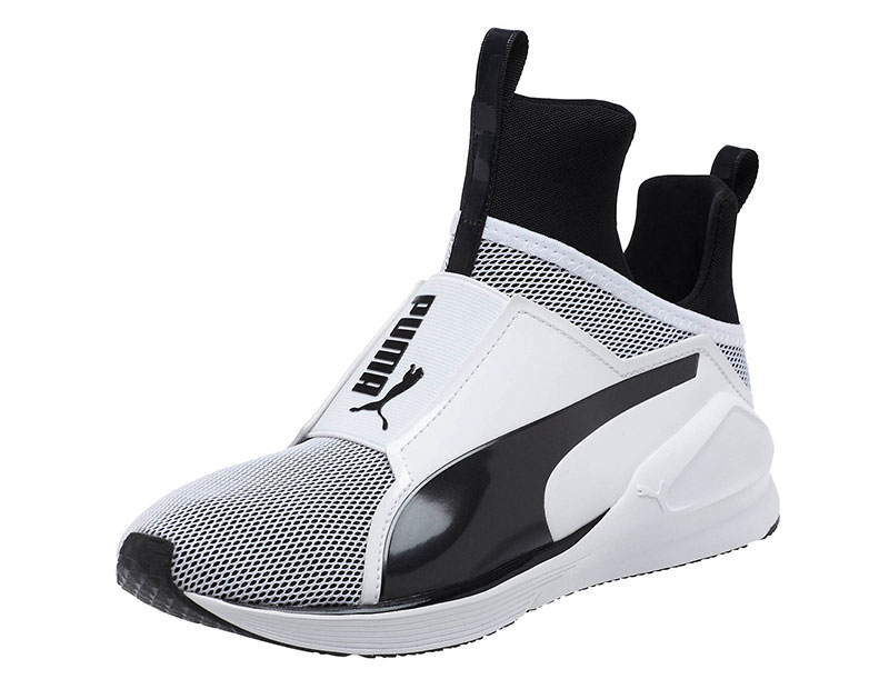 puma sneaker puma fierce sneaker in black u0026 white BHSRQKH
