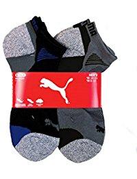 puma socks puma menu0027s extended size low cut, no show socks 6-pair 10-13 HZSDVVE