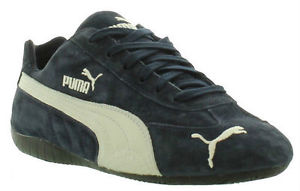 puma speed cat image is loading new-puma-speed-cat-suede-leather-blue-trainers- IXYGNML