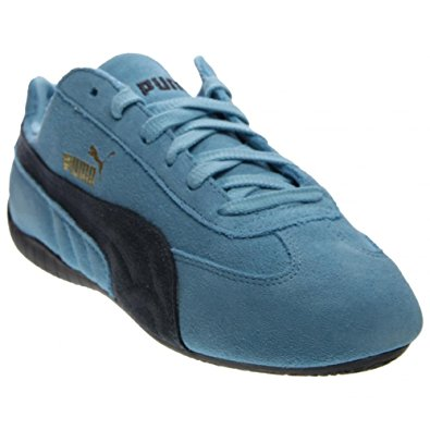 puma speed cat mens blue suede lace up sneakers shoes 7 LCMSVYH