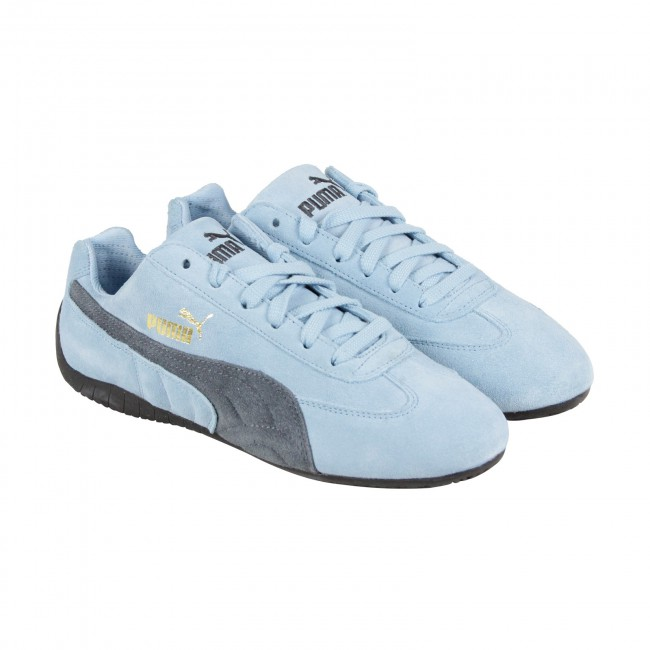 puma speed cat mens blue suede lace up sneakers shoes YTPSQIO