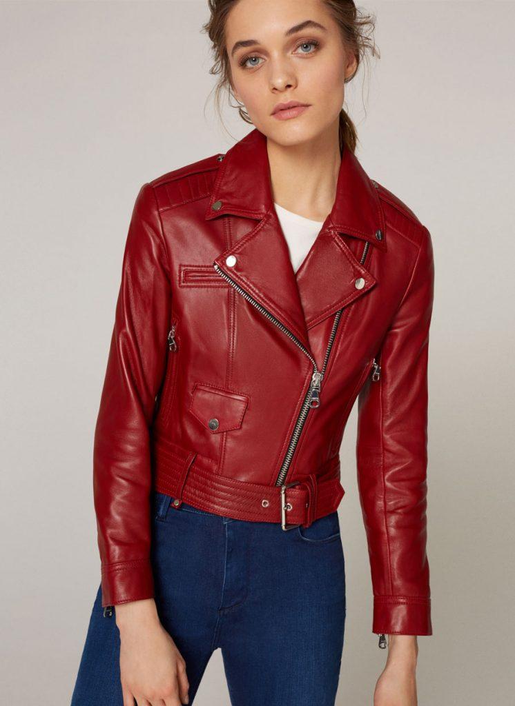 Red Leather Jacket red leather jacket NCSWSJU