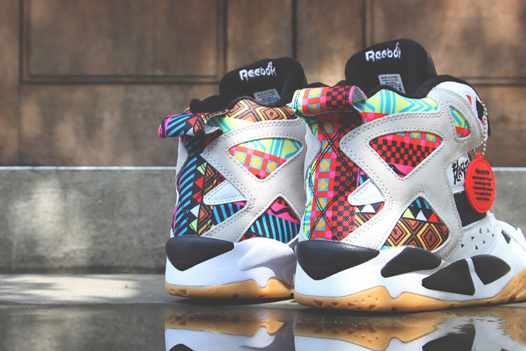 reebok blacktop battleground pump u0027geometric patternu0027 OCPPKVI