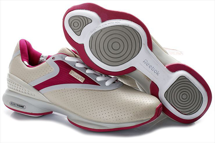 reebok easytone easytone curve synthetic leather women shoes red/white,reebok t shirts, reebok goalie BRVZUOV