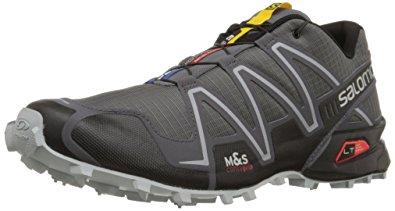 salomon running shoes salomon menu0027s speedcross 3 trail running shoe,dark cloud/black/light onix, XBWFSUM