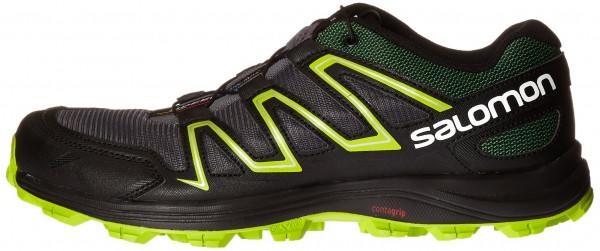 salomon running shoes salomon speedtrak men black ... EWJVOKT
