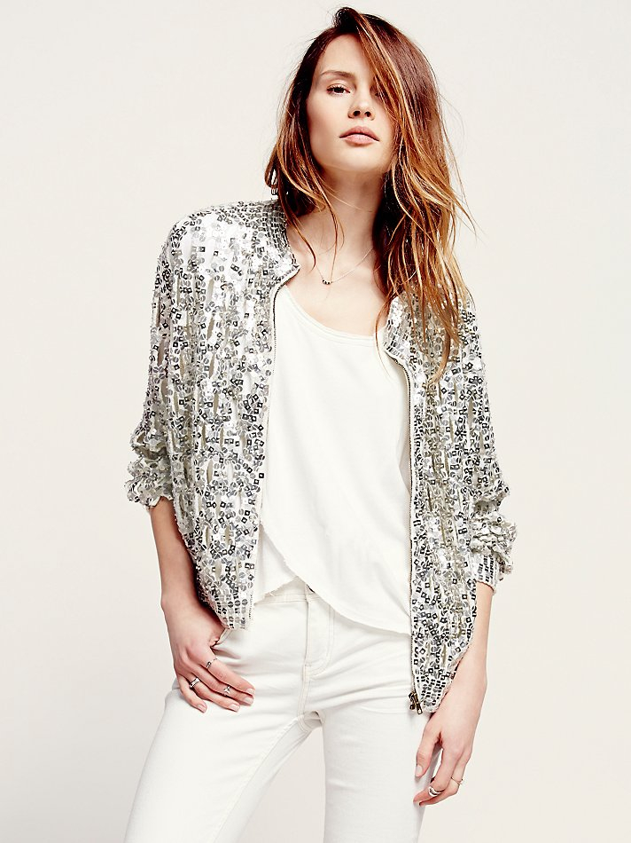 sequin cardigan gallery EAXUSCX