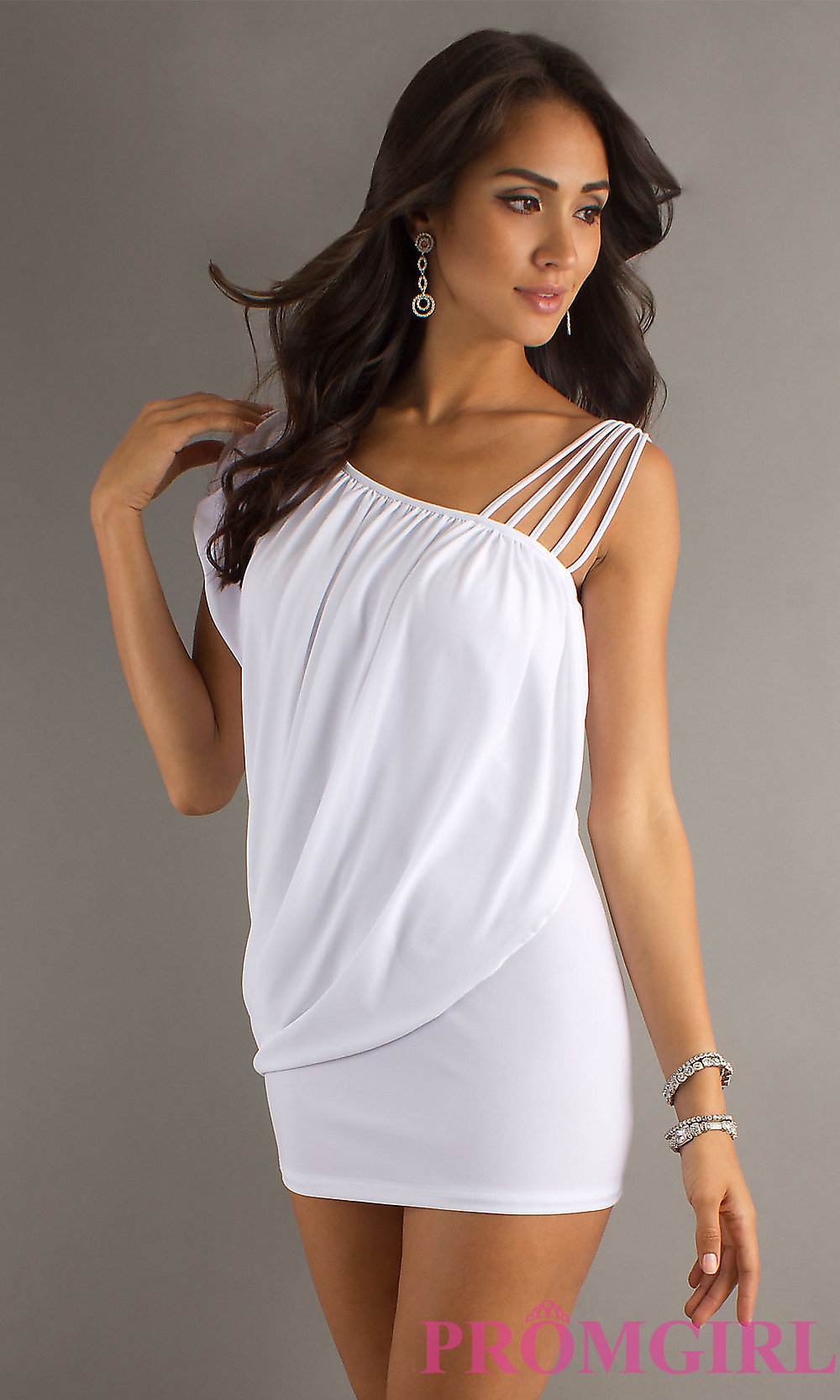 Sexy White Dresses hover to zoom HIJUABG