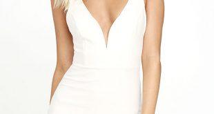 Sexy White Dresses sexy white dress - bodycon dress - lwd - little white dress - $44.00 BOCBNFH