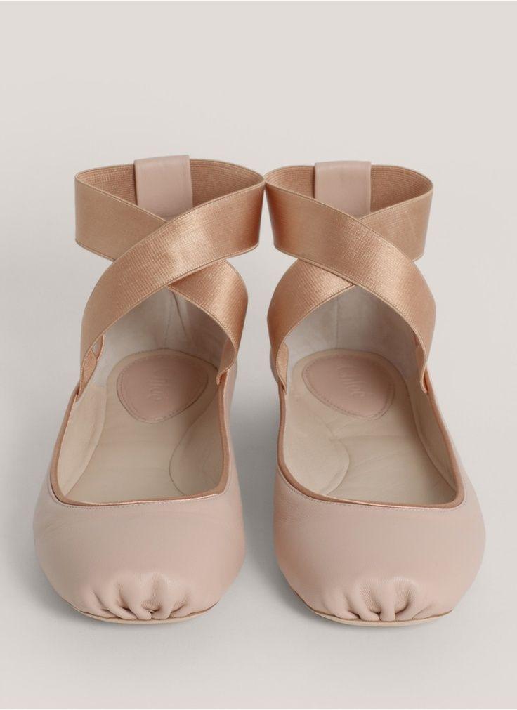 shoe crave: chloe ballerina shoes ZIYTEFK