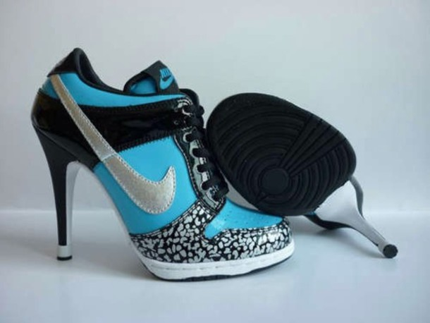 shoes blue nike pumps UQWNBPE