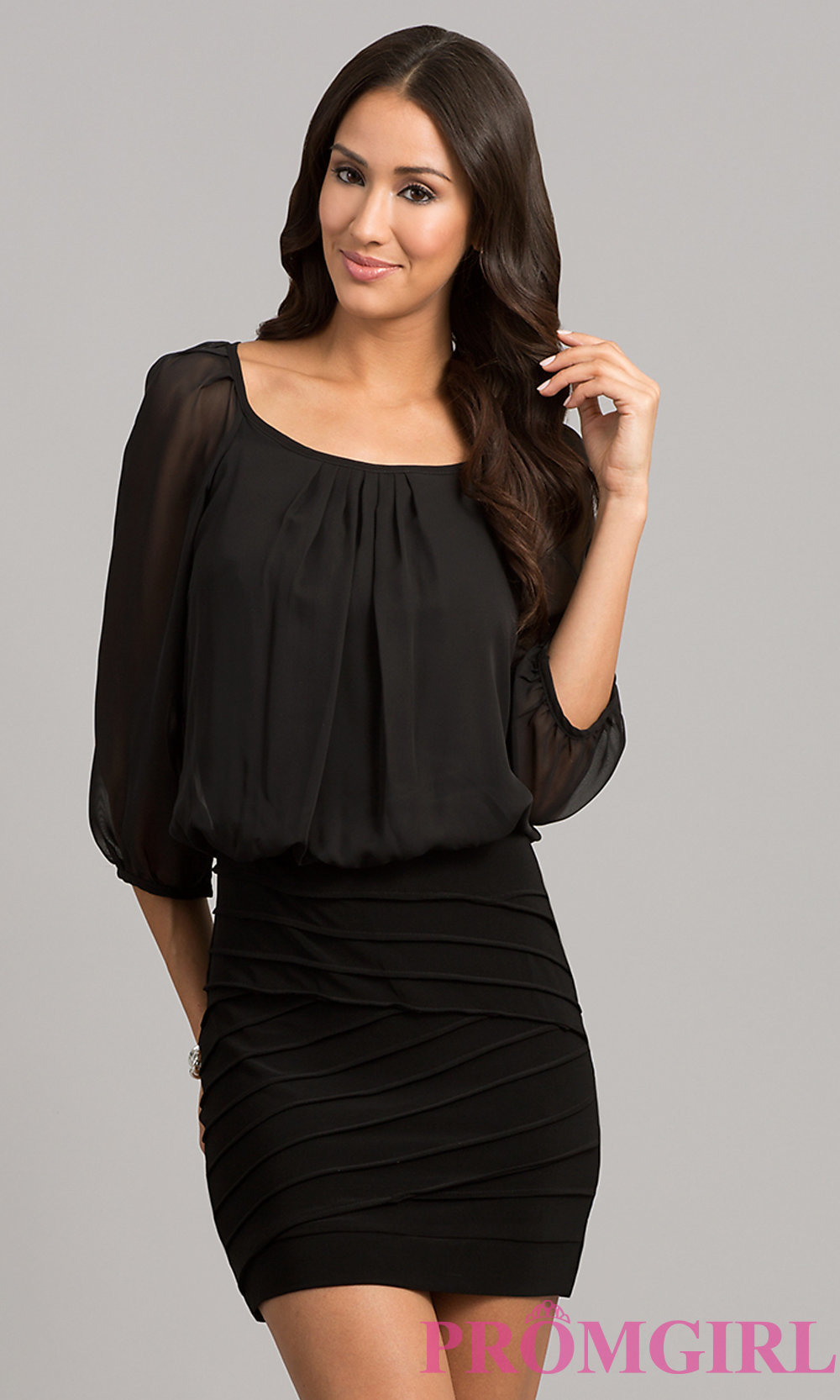 short black dresses hover to zoom MQCSPHK
