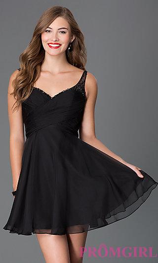 short black dresses short sweetheart open back dress-promgirl BRRTCDL