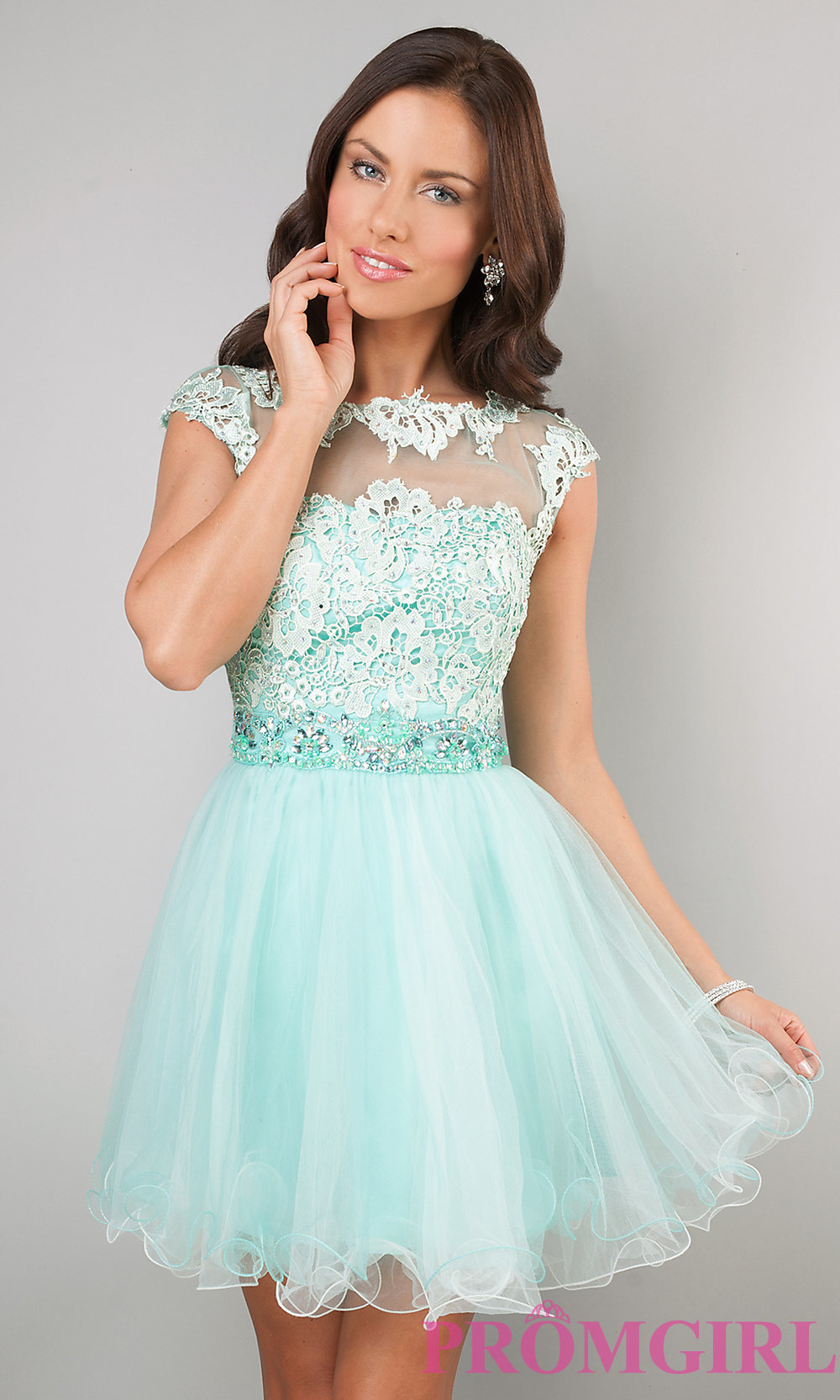 Short Prom Dress hover to zoom OYZRFIN