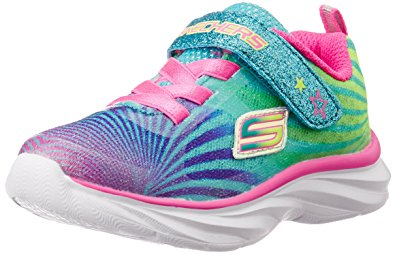skechers kids pepsters colorbeam sneaker (little kid/big kid), multi, 1 QTQVENH