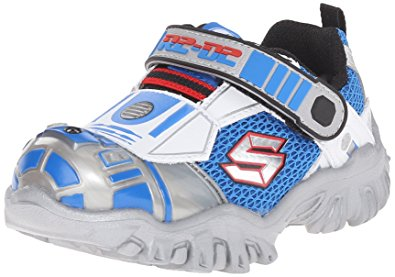 skechers kids star wars damager iii astromech light-up sneaker  (toddler/little kid UXGCCAQ