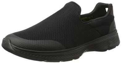 skechers walking shoes skechers performance menu0027s go walk 4 incredible walking shoe, black, ... UHHOYLC