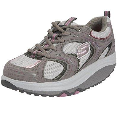 skechers walking shoes skechers womenu0027s shape ups -action packed fitness walking shoe BTMZPVC