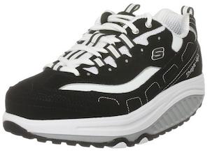skechers walking shoes skechers womenu0027s shape ups - strength fitness walking sneaker RDAWLVJ