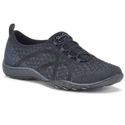 sketchers shoes skechers relaxed fit breathe easy fortune-knit womenu0027s slip-on shoes BLODVUT