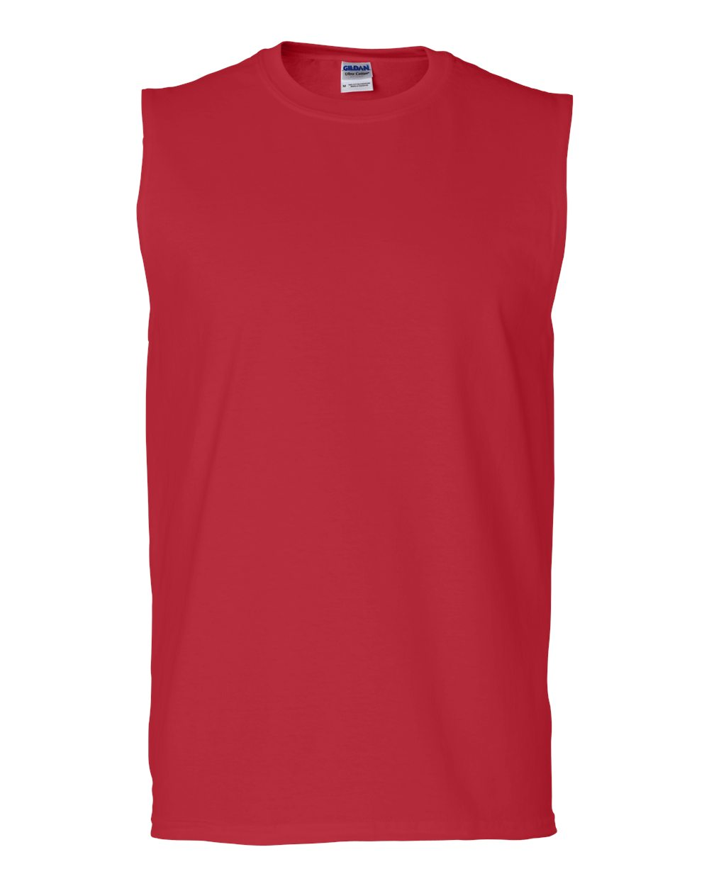 sleeveless shirts gildan-ultra-cotton-sleeveless-t-shirt-2700 BMFLTMX