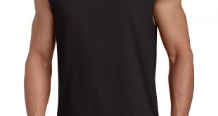 sleeveless shirts russell athletic menu0027s cotton muscle shirt PZBSBDY