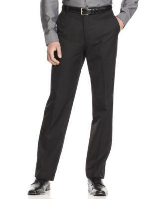 slim fit pants calvin klein menu0027s slim fit dress pants BSQUCPD