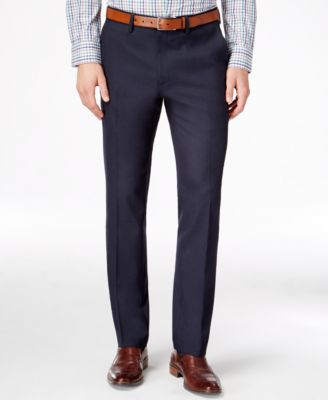 slim fit pants kenneth cole reaction menu0027s slim-fit stretch dress pants, created for macyu0027s GUYILYH