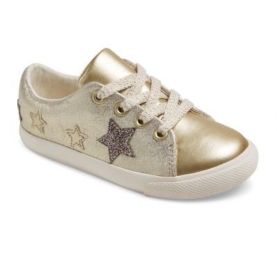 sneakers for girls toddler girlsu0027 jaida low top sneakers - cat u0026 jack™ - gold NBDZKNJ