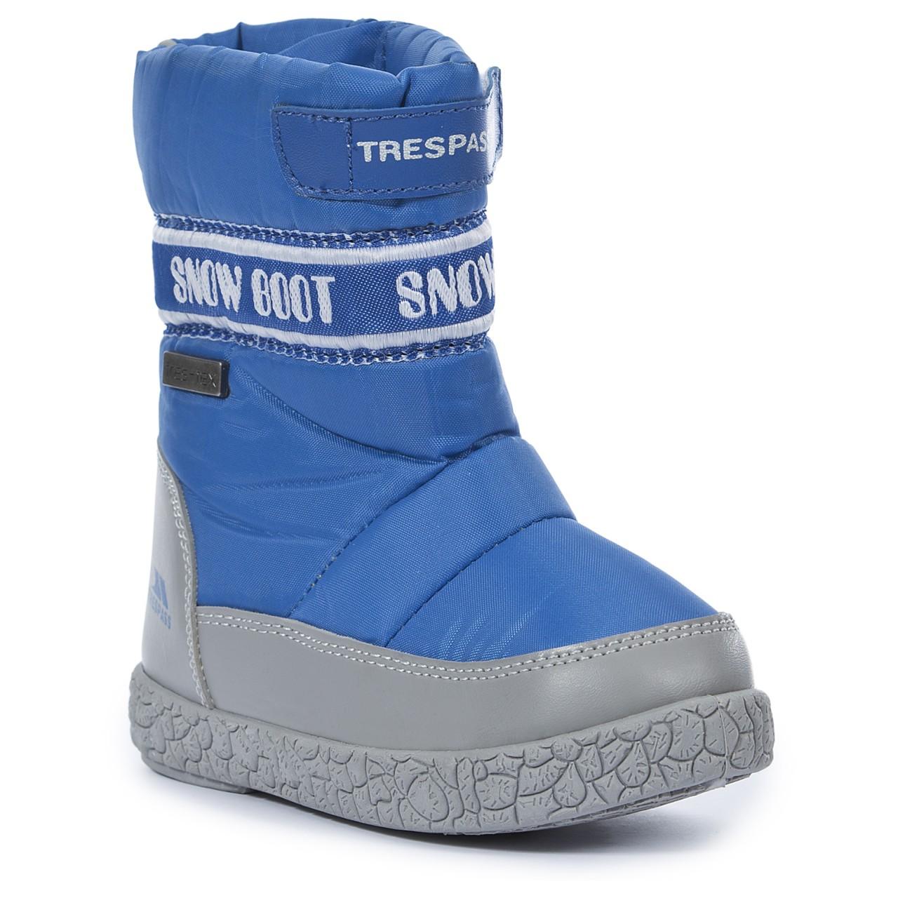 snowboots alfred boys snow boots azure 22 ... XPOBJZY