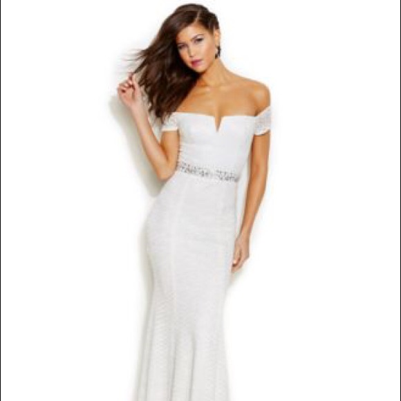 speechless dresses macyu0027s prom glittered off the shoulder dress OWQYSFL