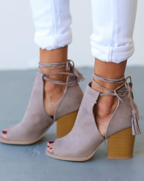 spring shoes nude booties RTQVACU