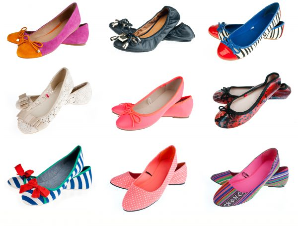 spring shoes - the ballerinas UNTUKSZ