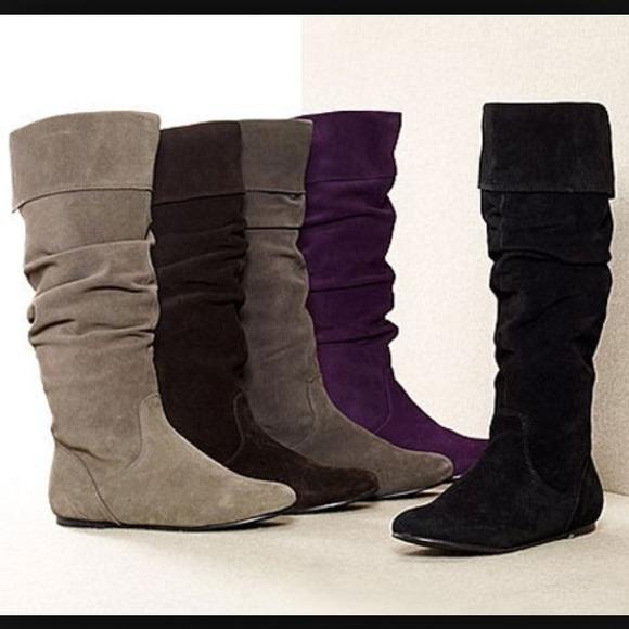 steve madden grey suede boots FPTIIJG