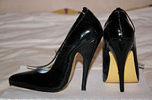 stilettos heels a pair of shoes with 12 cm stiletto heels MFJUEMN