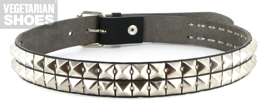studded belt pyramid (black) ABBJRTH