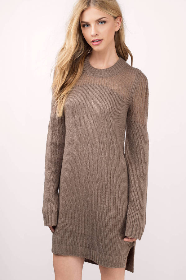 How to wear the sweater dress - storiestrending.com