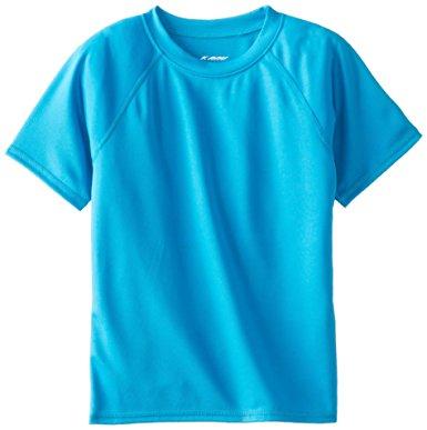 swim shirts kanu surf little boysu0027 toddler solid swim shirt, aqua, ... HBYIMRC