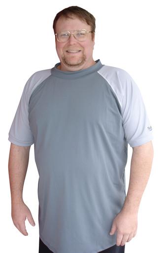 swim shirts plus size rash guard swim shirt for men WZQIUIR