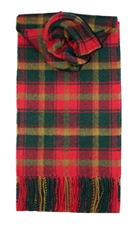 tartan scarves mapleleaf tartan scarf lambswool ZBICCRB