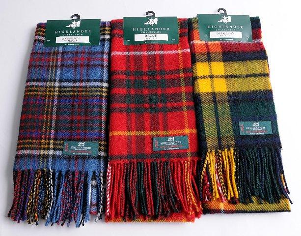 tartan scarves tartan scarf made of lambswool KTGEZRJ