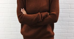 the perfect brown sweater YKCLKIZ