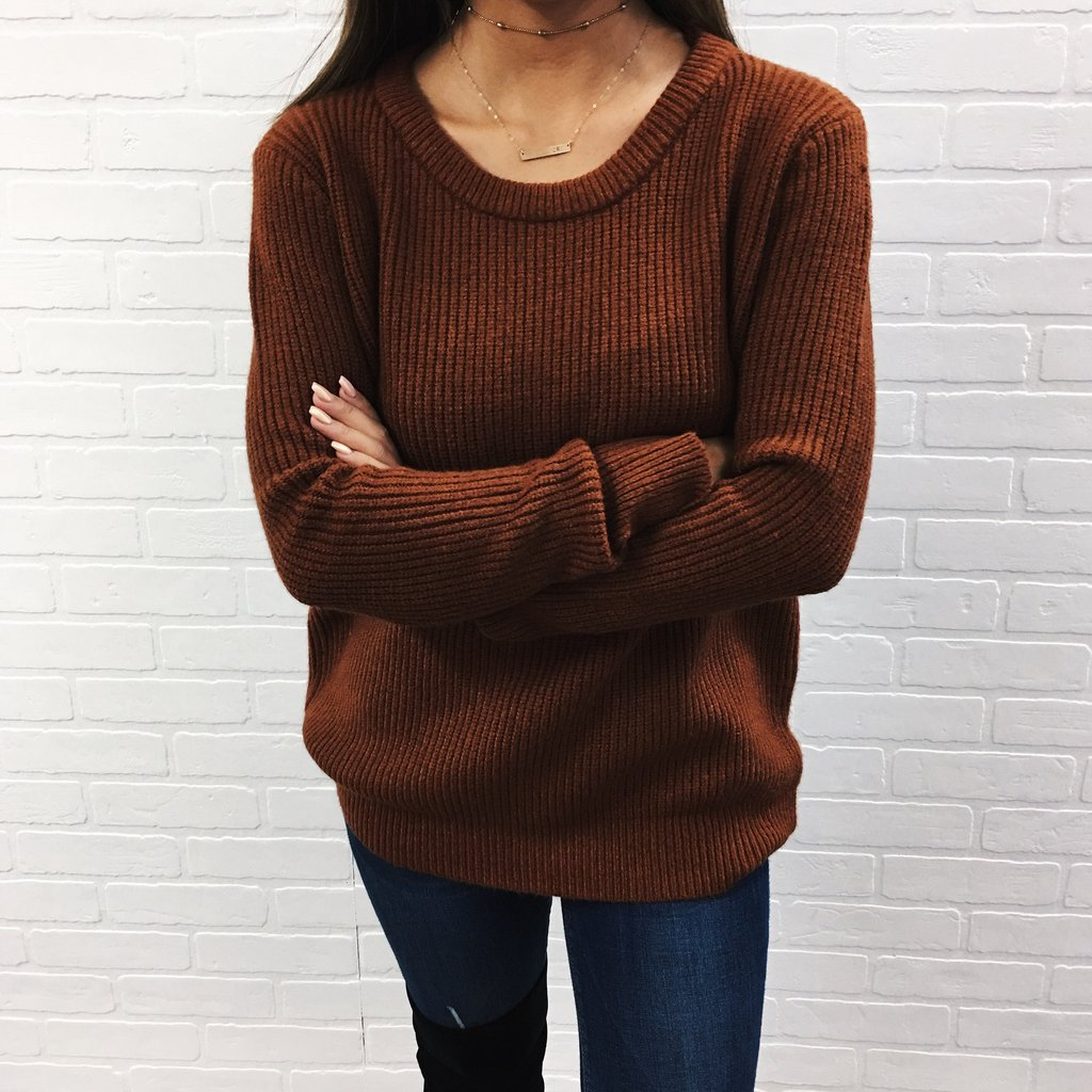 Wear Brown Sweaters and Look Chocolaty in the Super Cool Winter ...