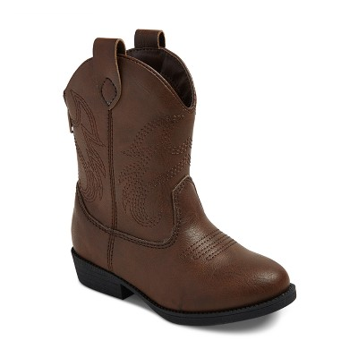 toddler boysu0027 ollie western cowboys boots - cat u0026 jack™ - brown XEMINQR