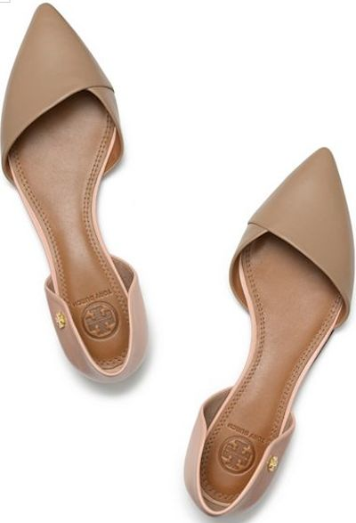 tory burch pointed toe flats http://rstyle.me/n/md9vmr9te FGXYSVK