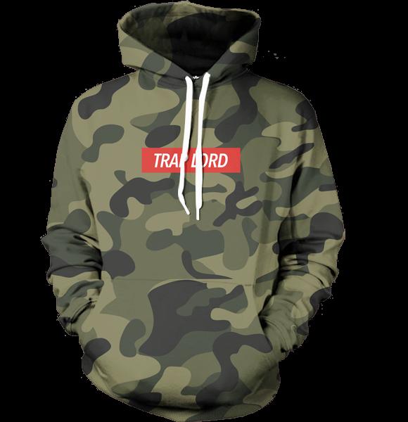 trap lord camo hoodie - all over print apparel - getonfleek JPVGROO