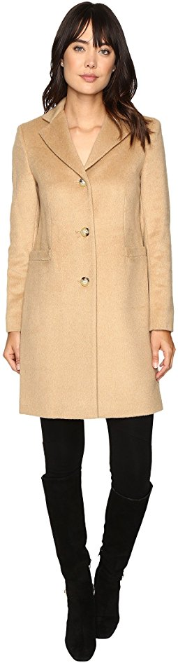 trench coats for women lauren ralph lauren - welt pocket reefer SRXRQDB